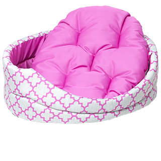 Picture for category beds from artificial fibers for dogs